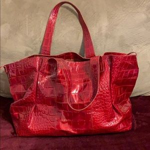 Francesco Biasia leather handbag/tote